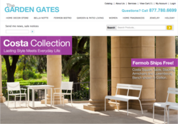The Garden Gates website