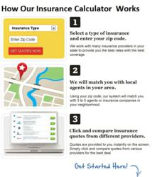insurance calculator usage instructions