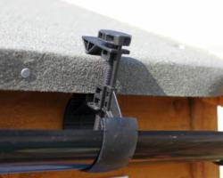 Hall's Rainsaver, Versatile Shed Guttering for Rainwater Harvesting