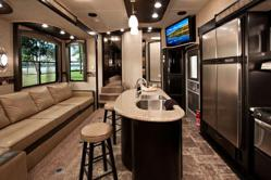 Road Warrior Toy Hauler RV