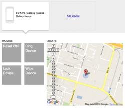 Google mobile device management