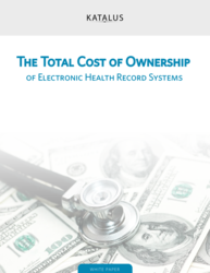 The Total Cost of Ownership of Electronic Health Record Systems