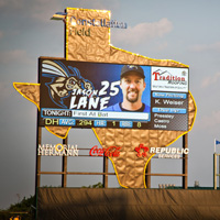 Image of Lighthouse LED Video at Constellation Field in Sugar Land, TX