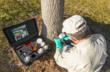 ArborSystems Wedgle Direct-Inject Tree Injection System in use