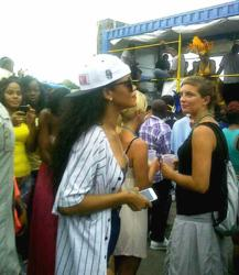 Rihanna in Barbados for Crop Over 2012