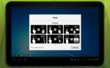 Screenshot of Splashtop 2 hints of gestures on an Android tablet.