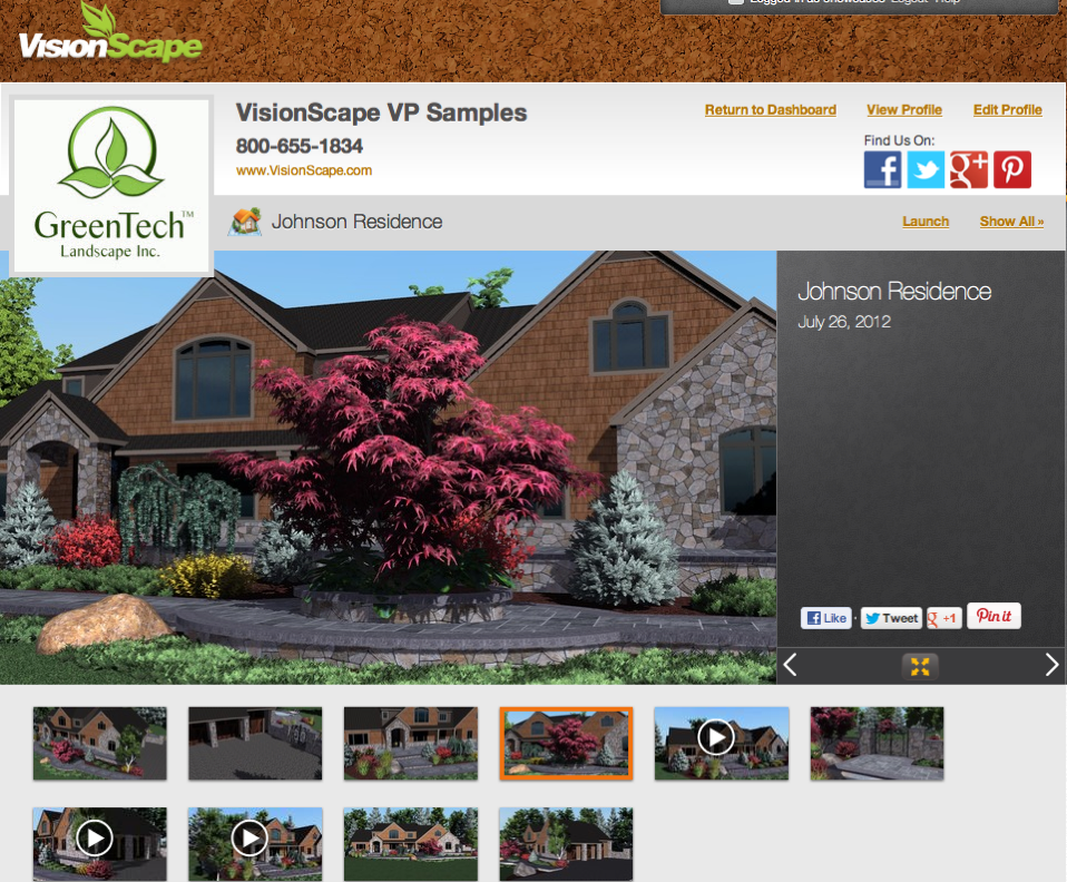 Visionscape Interactive Llc Transforms Landscape Design