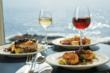 Blueberry halibut is one of the many signature dishes served at The Cliff House Resort & Spa on Maine's southern coast.