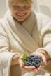 Spa goers love the antioxidant benefits from The Cliff House Resort & Spa's blueberry spa treatments.