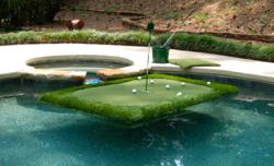 Floating Golf Green By Intelliturf Brings The Golf Course