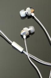 Brite Buds - Reflective Cord Stereo Earphones