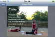 "Yoga Pose from ""Yoga By Teens"" app"