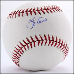 PoliceAuctions.com Yogi Berra Baseball
