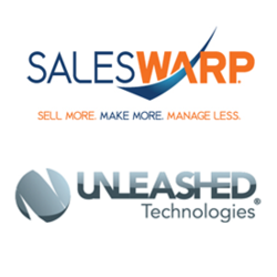 Unleashed Technologies and SalesWarp Logo