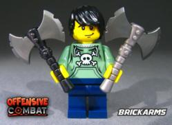 Offensive Combat Mini-Figure Weapons