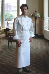 "Chef Apron - 35""W  X 37""L - Crooked Brook"