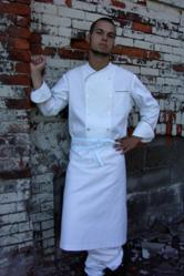 Chef Apron - 36&quot;W  X 26&quot;L - Crooked Brook