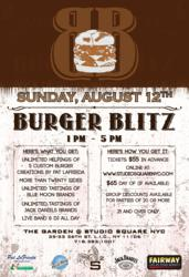 Burger Blitz Flyer