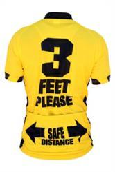 3 Feet Please Cycling Jersey - Back