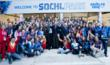 Jacques Rogge Tastes the Atmosphere of the Sochi Games
