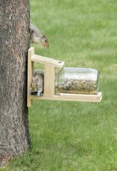 Duncraft's Squirrel Jar Feeder #5729