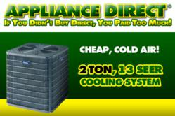 Appliance Direct Provides Cheap Cold Air