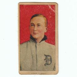 PoliceAuctions.com 1909 T206 Red Portrait American Beauty Cigarette Card
