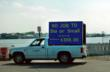 Tourist Information Vehicles - Mobile LED Sign Advertising