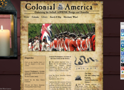 ColonialAmerica.com Home Page