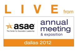 Live at ASAE Annual Logo