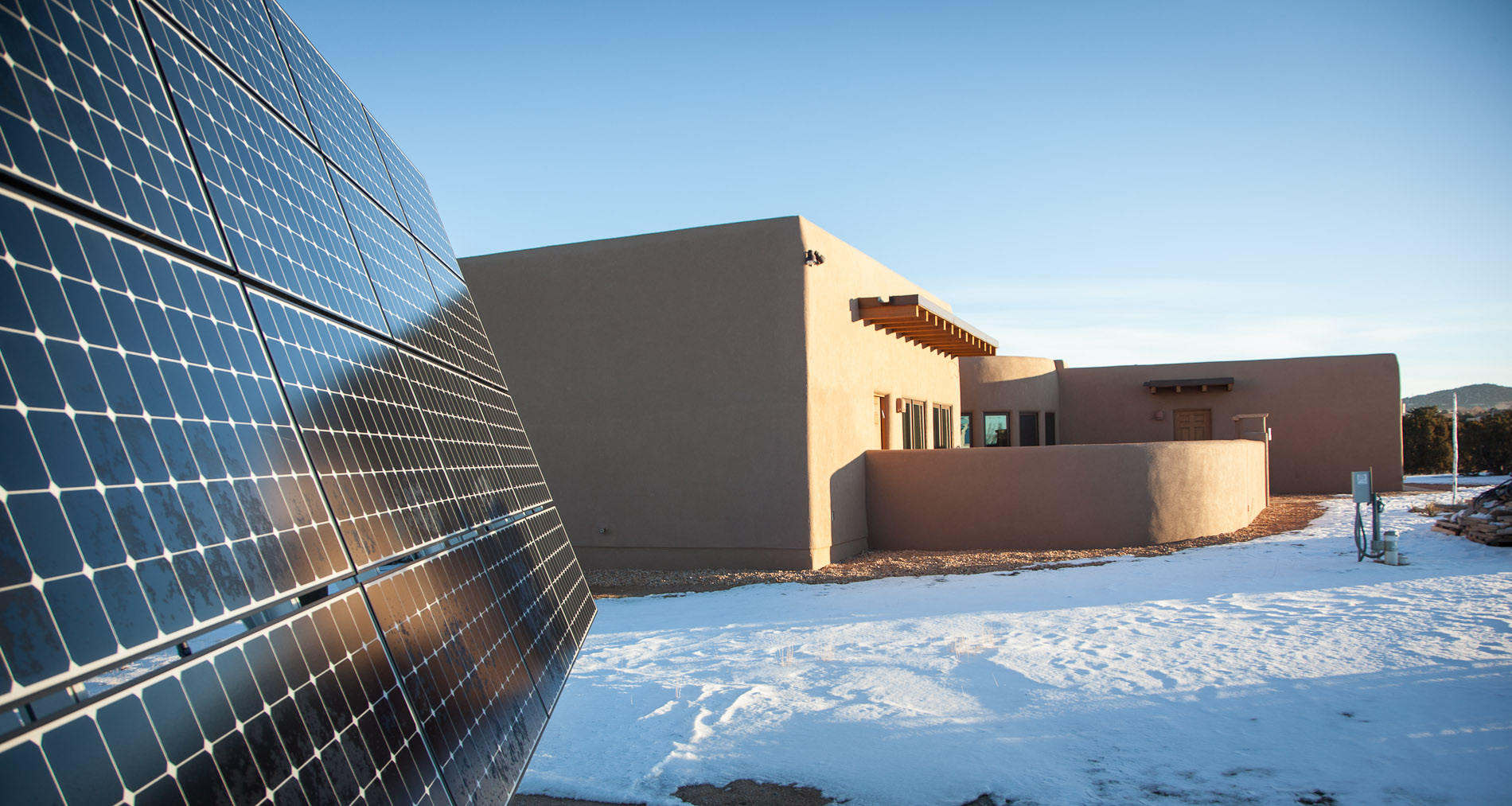 Geothermal Solar Electric Home In Santa Fe New Mexico