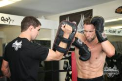 Pro Fighter Dave Nielsen Training for his August 18th fight at Pala Casino Spa Resort