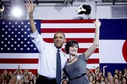 Sandra Fluke and Obama 2012