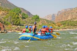 River Rafting Split Mountain Gorge Dinosaur National Monument