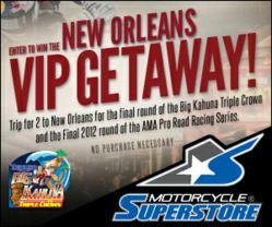 Motorcycle-Superstore.com Triumph Big Kahuna New Orleans VIP Getaway Sweepstakes