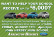 Arlington Heights Ford is Hosting the Drive One for Your School Event...
