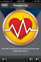 Medal for Using Azumio Heart Rate