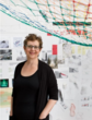 Janet Echelman in her Brookline Studio, Courtesy Architectural Digest