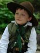 Child Reenactor at the East Tennessee History Fair