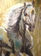 Local Painter, Touché, a featured artist at Last Gallery on the Left, located at 836A Canyon Road, Santa Fe, New Mexico, is the company's showcase solo talent for the week of August 13-19
