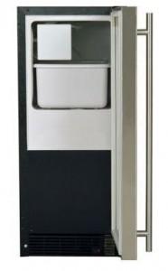 marvel 25imbsfl crescent cube ice maker al650lbi mini fridge