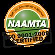 NAAMTA ISO certified