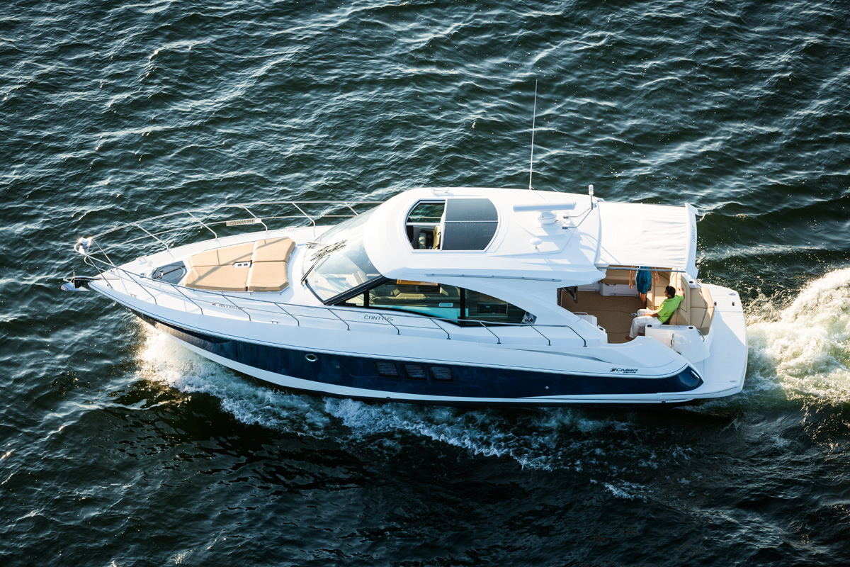 New 45 Cantius Unveiled At Cruisers Dealer Meeting With