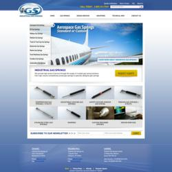 Industrial Gas Springs Website