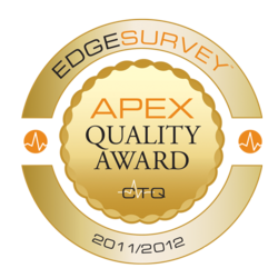 APEX Quality Award 2011/2012 Seal