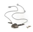 Susan Elnora silver art jewelry - barn necklace