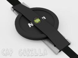 Cap Gorilla PRO AL camera lens cap holder