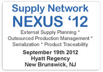 TraceLink Supply Network NEXUS '12