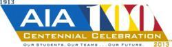 AIA 100 year logo
