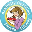 AskPatty.com Certified Female Friendly